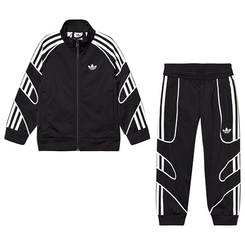 adidas Originals Black Flame Logo Tracksuit