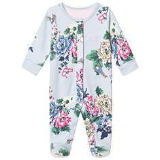 18d66d0892c Blue Peter Rabbit Floral Footed Baby Body