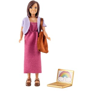 Lundby Mother with Laptop + Bag 3+ years