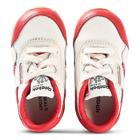 Reebok Reebok x The Animals Observatory Red & White Classic Trainers