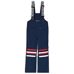 Perfect Moment Downs PERFECT MOMENT NAVY & STRIPED ISOLA RACING SKI PANTS