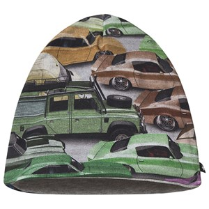 Molo Molo Multi Ned Cars Baby Hat 3-6 Months