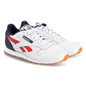 Reebok Kids' Multi Classic Leather Trainers In White