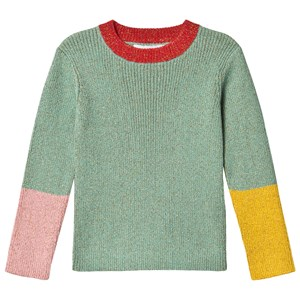 STELLA MCCARTNEY GREEN LUREX JUMPER