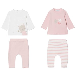 MAYORAL MAYORAL TWO OUTFITS PINK STARS SET