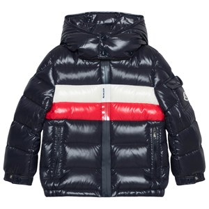 Moncler Navy Dell Down Jacket 12 years