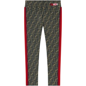 FENDI LOGO LEGGINGS