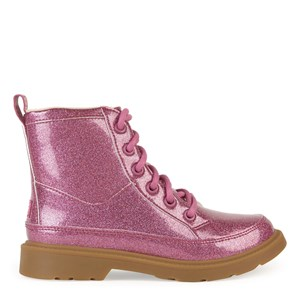 Ugg Kids' Robley In Berry Rose Glitter
