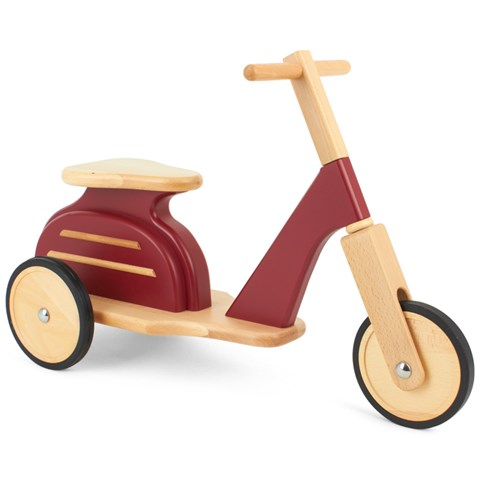 moulin roty red wooden scooter alexandalexa. Black Bedroom Furniture Sets. Home Design Ideas