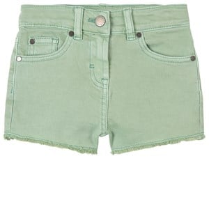 Stella Mccartney Denims MINT GREEN DENIM SHORTS