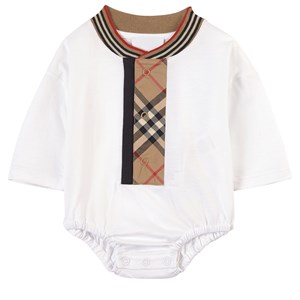 Burberry White/archive Beige Knox Baby Body