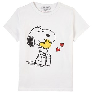 The Marc Jacobs THE MARC JACOBS WHITE SNOOPY PRINT T-SHIRT