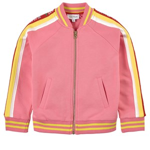 The Marc Jacobs Jackets THE MARC JACOBS PINK LOGO ZIP JUMPER