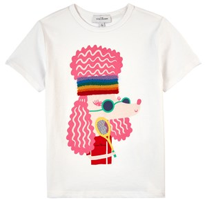 The Marc Jacobs T-shirts THE MARC JACOBS WHITE POODLE PRINT T-SHIRT