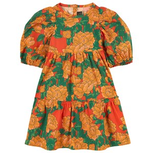 Mini Rodini Cottons PEONIES PRINT DRESS