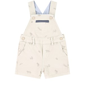 Mayoral Cottons GREY TWILL OVERALLS