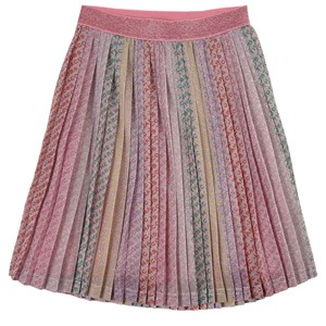 The Marc Jacobs Pink Glitter Pleated Skirt 8 years