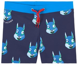 The Marc Jacobs THE MARC JACOBS BLUE BAIN PRINTED SWIM PANTS