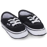 Vans Black Authentic Crib Shoes