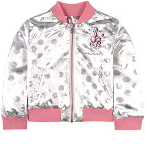 The Marc Jacobs THE MARC JACOBS SILVER REVERSIBLE JACKET