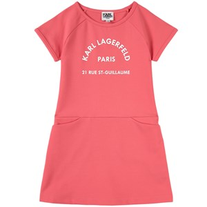 Karl Lagerfeld Dresses KARL LAGERFELD KIDS PINK KARL ADDRESS DRESS