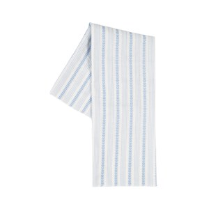 The Campamento Blue Striped Scarf One Size