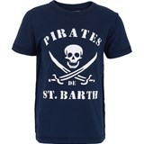 MC2 St Barth Skull and Swords Branded Tee