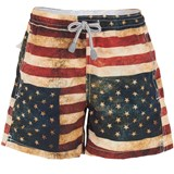 MC2 St Barth Vintage US Flag Swim Shorts