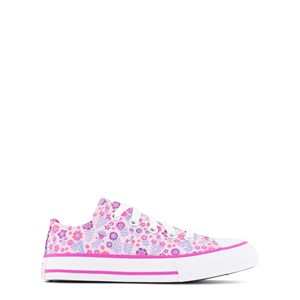 Converse PINK FLORAL CHUCK TAYLOR ALL STAR OX TRAINERS