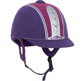 Harry Hall Purple & Pink Legend Plus Riding Helmet