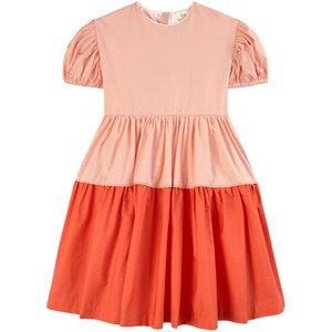 The Middle Daughter THE MIDDLE DAUGHTER CALAMINE & KOI UP A NOTCH POPLIN DRESS