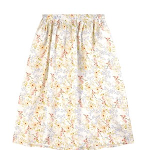 Paade Mode Maxi skirts MULTI FLORAL VIOLA MAXI SKIRT
