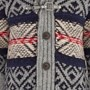 Tommy Hilfiger Grey Fair Isle Cardigan