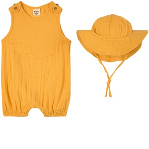 Buddy & Hope Yellow Romper Set