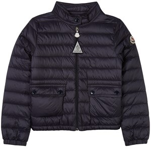 Moncler Navy Lans Quilted Puffer Jacket