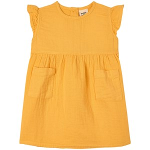 Buddy & Hope Kids' Yellow Flounce Dress