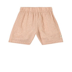 Buddy & Hope Dusty Rose Polka Dots Shorts In Pink