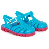Project Jelly Aqua and Bubblegum Pink Jelly Sandals