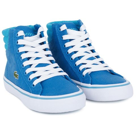 Lacoste Blue Marcel High Top Trainers  54903945f63
