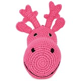 Anne-Claire Petit Pink Plush Stag Head
